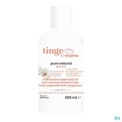 Tinge - Anti-striemen Olie Mama - 200ml
