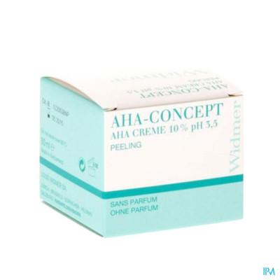 Louis Widmer - AHA Crème 10% (zonder parfum) - 50 ml