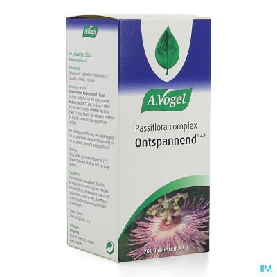 A.Vogel Passiflora 200 tabletten