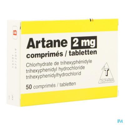 Artane 2mg Blister Comp 50 X 2mg