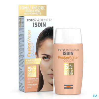 Fotoprotector ISDIN FusionWater COLOR SPF 50 50ml