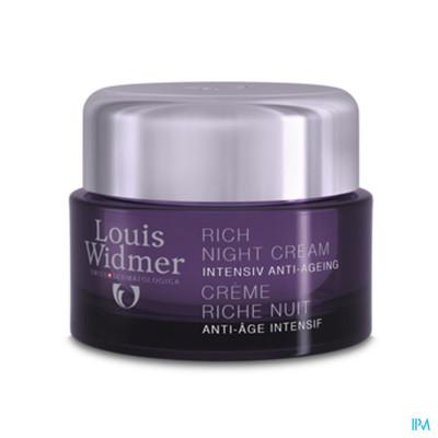 Louis Widmer - Rijke Nachtcrème(licht parfum) - 50 ml