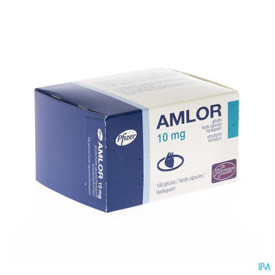 Amlor Caps 100 X 10mg