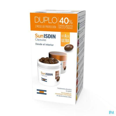 Fotoprotector ISDIN Promopack Sunisdin 30caps -40% op de tweede doos New