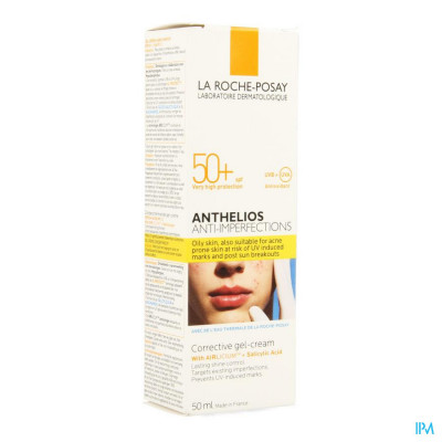 La Roche Posay Anthelios A/imperfections Corrig. Gel-cr 50ml