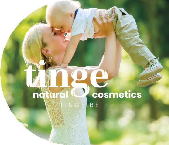 Tinge: natuurlijke huidverzorging gemaakt in Belgie